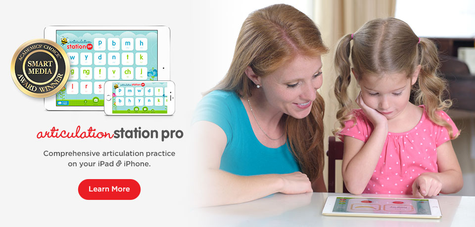 Articulation Station Pro - Comprehensive articulation practice on your iPad & iPhone