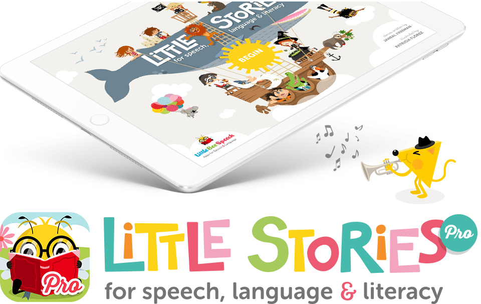 Little Stories Pro - App for speech, language and literacy for iPad