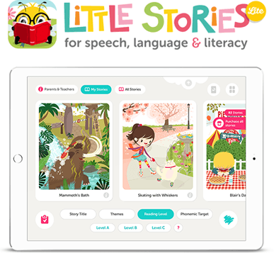 Little Stories Lite - App for speech, language and literacy for iPad